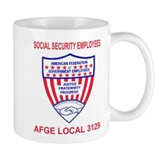 AFGE Local 3129 Coffee Cup