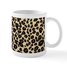 Leopard Print Small Mug