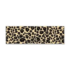 Leopard Print Car Magnet 10 x 3
