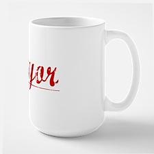 Mayor, Vintage Red Mug
