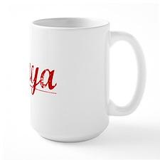 Maya, Vintage Red Mug