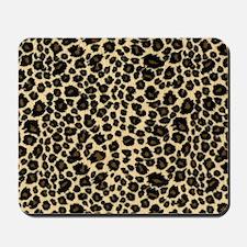 Leopard Print Mousepad