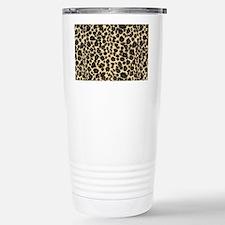 Leopard Print Thermos Mug