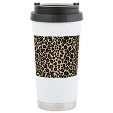 Leopard Print Travel Mug