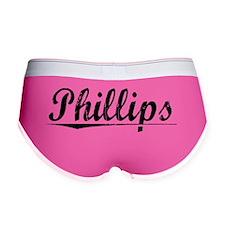Phillips, Vintage Women's Boy Brief