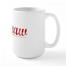 Mcgraw, Vintage Red Mug