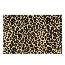 Leopard Print Postcards (Package of 8)