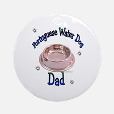 PWD Dad Ornament (Round)