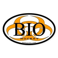 BIO Hockey - Oval Decal