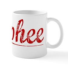 Mcphee, Vintage Red Mug