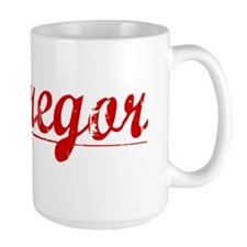 Mcgregor, Vintage Red Mug