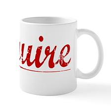 Mcguire, Vintage Red Mug