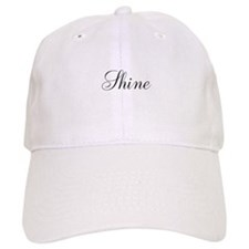 Shine Inspirational Word Baseball Baseball Cap