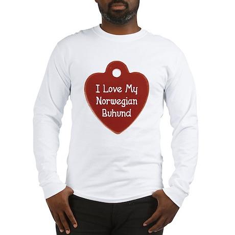 Love My Buhund Long Sleeve T-Shirt