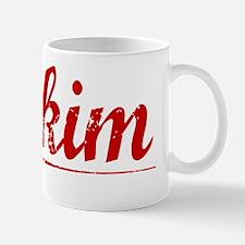Mckim, Vintage Red Mug