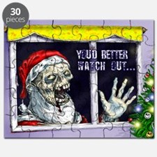 Zombie Santa is coming Puzzle