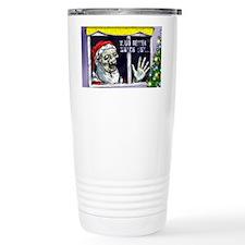 Zombie Santa is coming Travel Mug