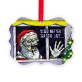 Zombie Picture Frame Ornaments