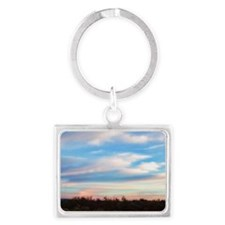 early morning Landscape Keychain