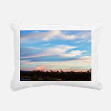 early morning Rectangular Canvas Pillow