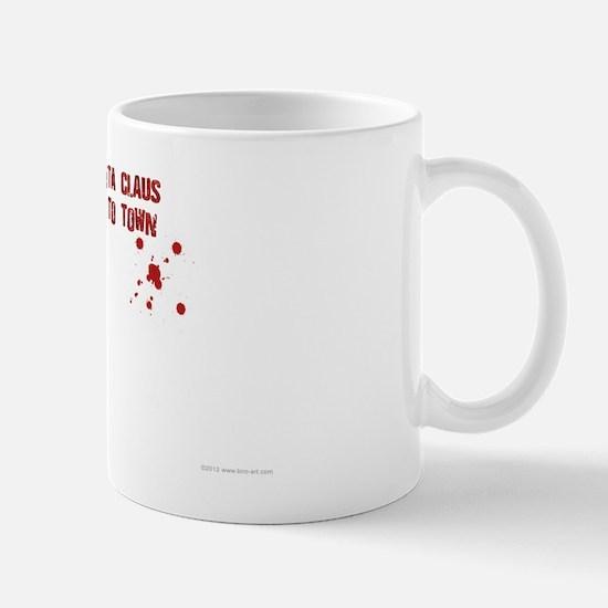 Zombie Santa (inside card) Mug