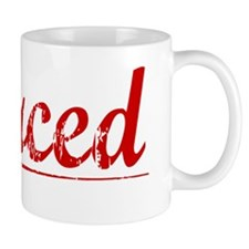 Merced, Vintage Red Mug