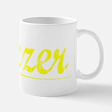 Frazer, Yellow Small Small Mug