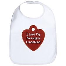 Love My Lundehund Bib