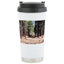 pine forest Travel Coffee Mug