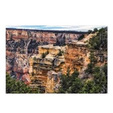 Grand Canyon cliffs Postcards (Package of 8)