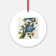 bja_greeting_card_192_V_F Round Ornament