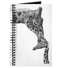 Giraffe and Calf Serving Tray Journal