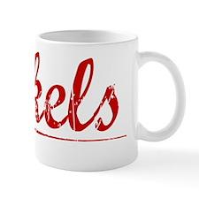Mikels, Vintage Red Mug