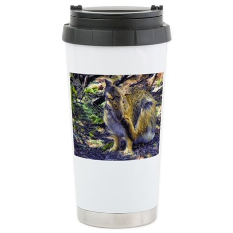 loving cottontail Stainless Steel Travel Mug