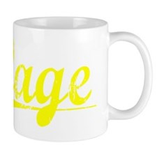 Gage, Yellow Mug