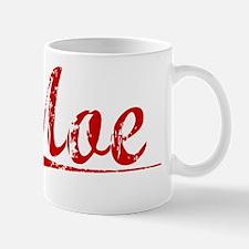 Moe, Vintage Red Mug