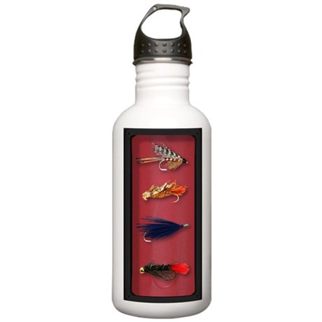 Fly-Fishing case Stainless Water Bottle 1.0L