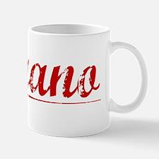 Morano, Vintage Red Mug