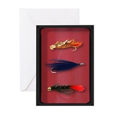 Fly-Fishing case Greeting Card