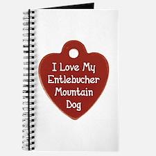 Love My Entlebucher Journal