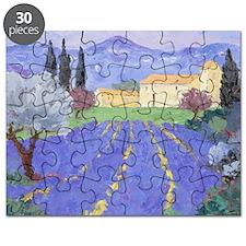 Lavender Farm Puzzle