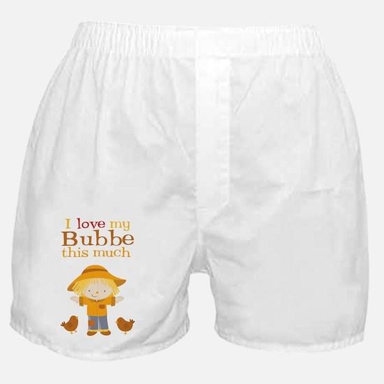 Scarecrow I Love Bubbe Boxer Shorts