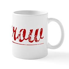 Morrow, Vintage Red Mug