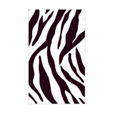 Zebra Stripes Decal