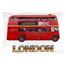 Red Bus-London Pillow Case