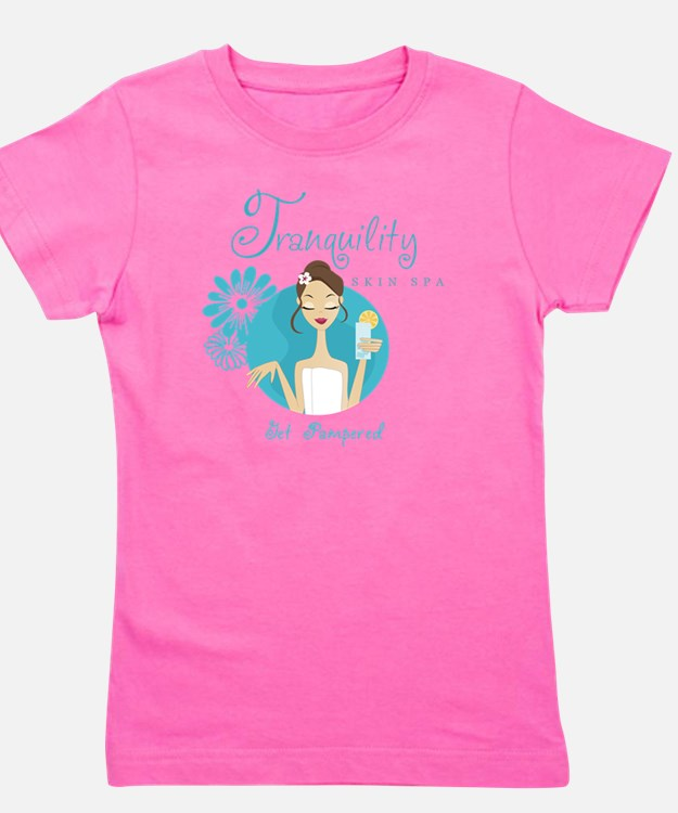 Tranquility Skin Spa Girl's Tee