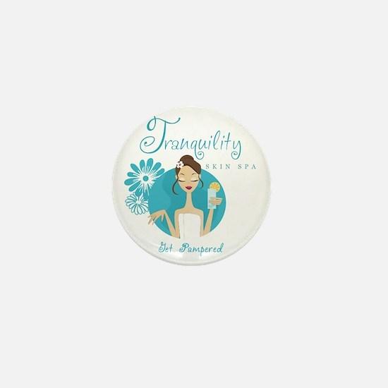 Tranquility Skin Spa Mini Button