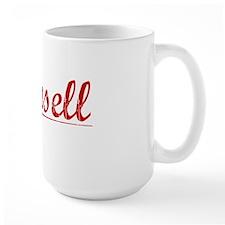 Munsell, Vintage Red Mug
