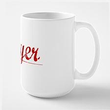 Moyer, Vintage Red Mug