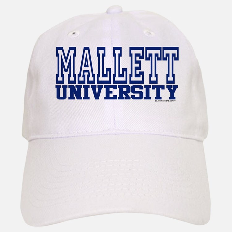 MALLETT University Baseball Baseball Cap